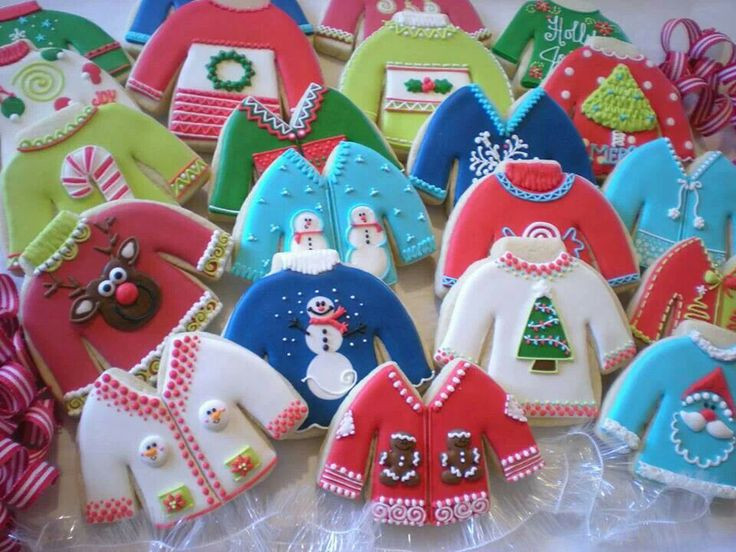 Christmas Sweater Cookies  Ugly Christmas Sweater Party Ideas The Ultimate Guide