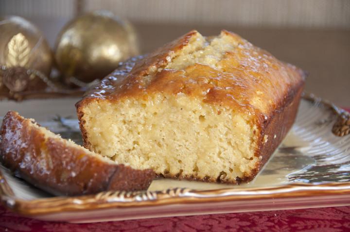 Christmas Sweet Bread Recipes  Orange Glazed Eggnog Quick Bread