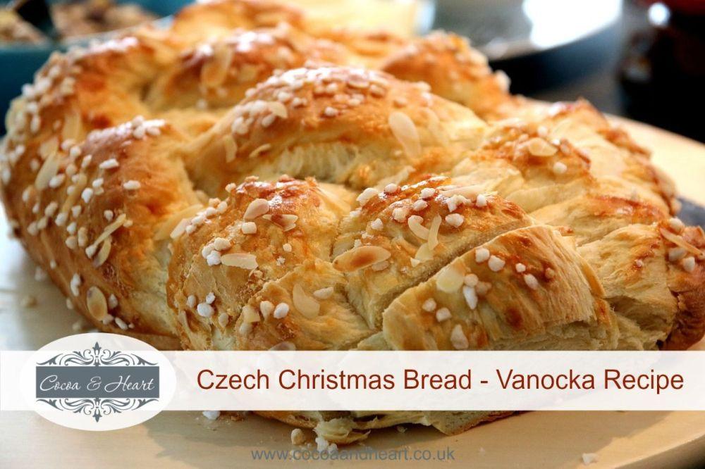 Christmas Sweet Bread Recipes  Vanocka Recipe Traditional Czech Christmas Sweet Bread