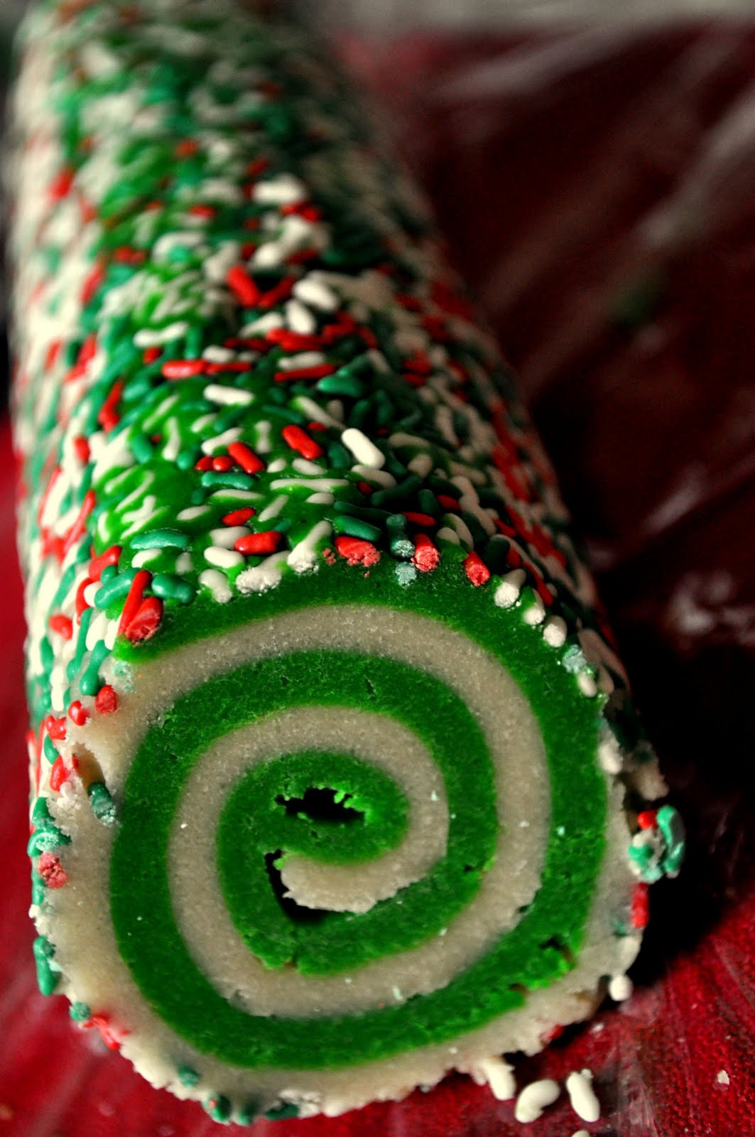 Christmas Swirl Cookies  Our Italian Kitchen Colorful Swirl Cookies