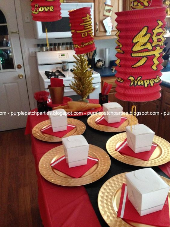 Christmas Theme Dinners  The Purple Patch A Christmas Story themed Christmas Party