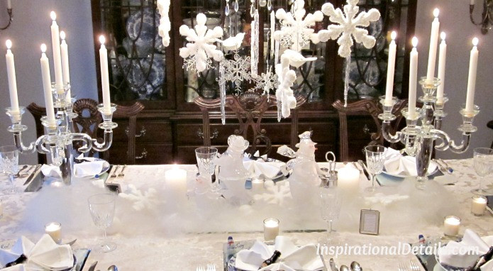 """Christmas Theme Dinners  """"White Christmas"""" Dinner Party"""