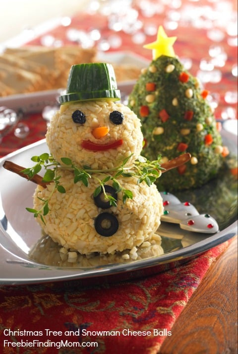 Christmas Themed Appetizers  Christmas Party Appetizer Ideas Christmas Tree Snowman