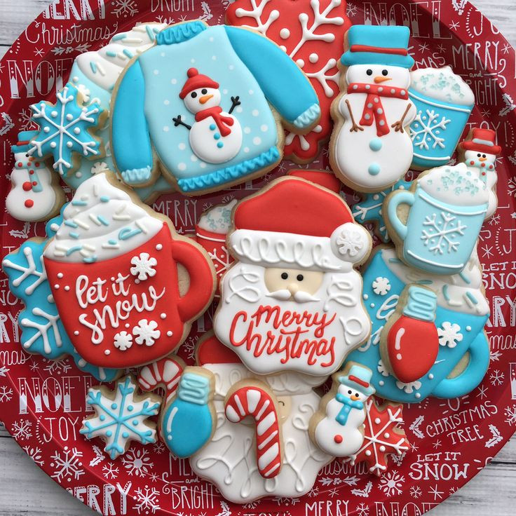 Christmas Themed Cookies  Best 25 Decorated christmas cookies ideas on Pinterest