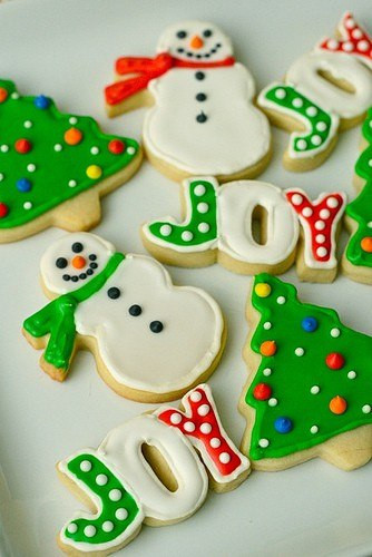 Christmas Themed Cookies  Christmas cookie decorating Home Decorating Ideas