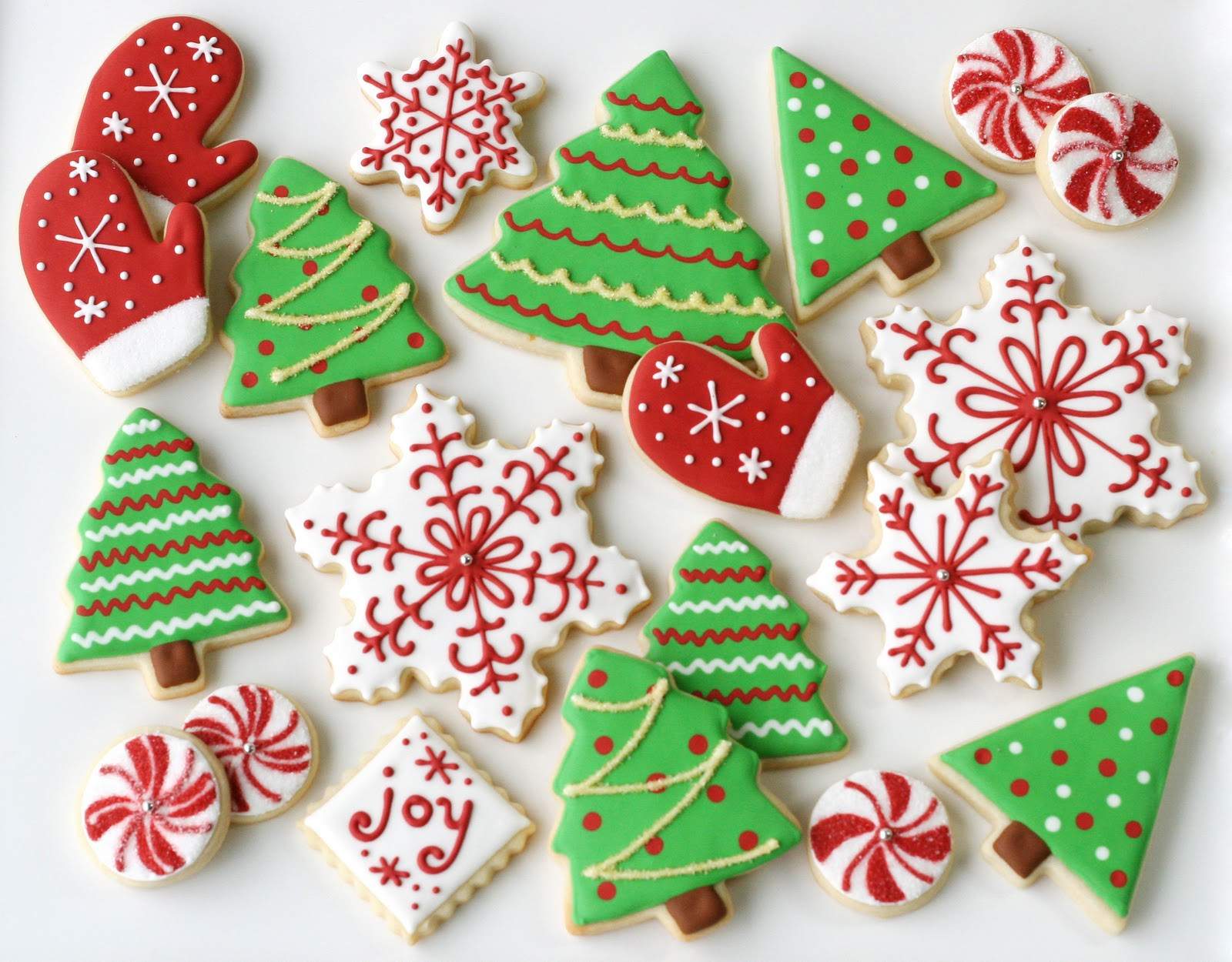 Christmas Themed Cookies  Christmas Cookies Galore Glorious Treats