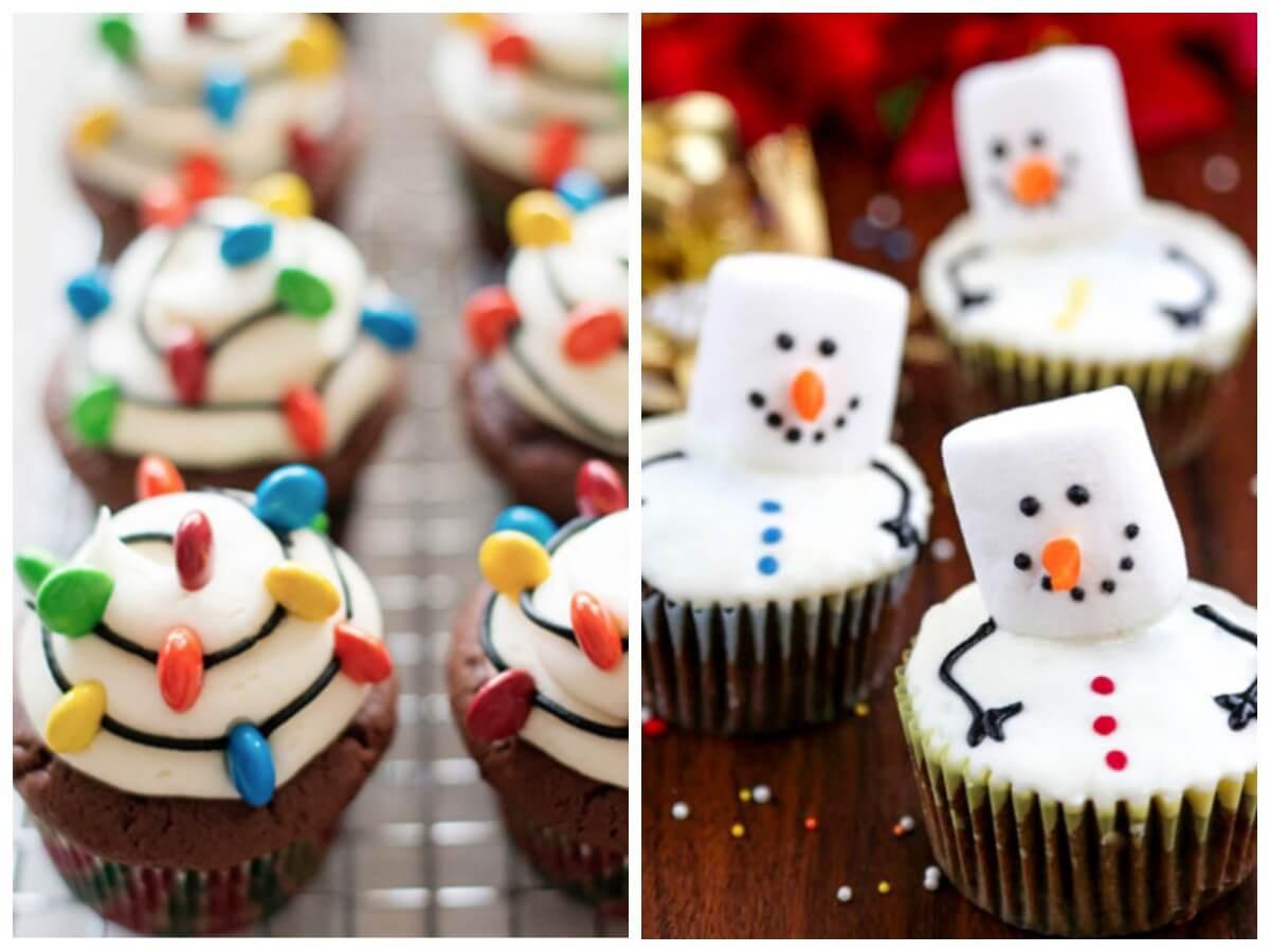 Christmas Themed Cupcakes  21 Festive & Delicious Christmas Cupcake Recipes