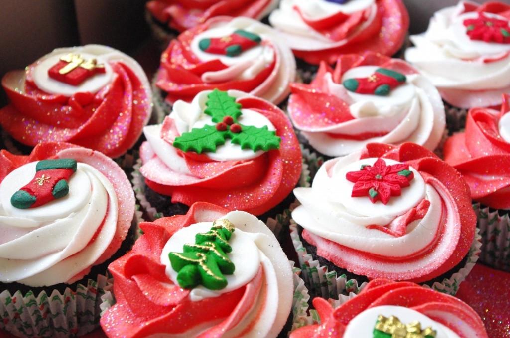 Christmas Themed Cupcakes  Christmas themed Cupcakes