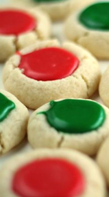 Christmas Thumbprint Cookies Recipe  Thumbprint Cookies Recipes You Will LOVE landeelu