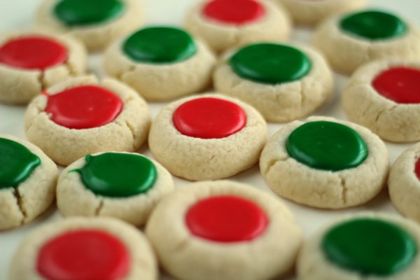 Christmas Thumbprint Cookies Recipe  50 Delicious Cookies for Santa