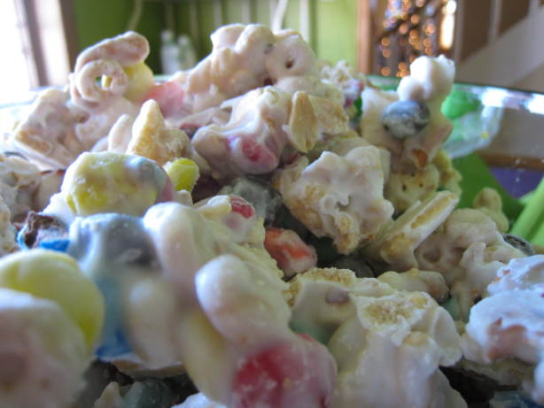 Christmas Trash Candy  White Trash Candy Snack Recipe Food