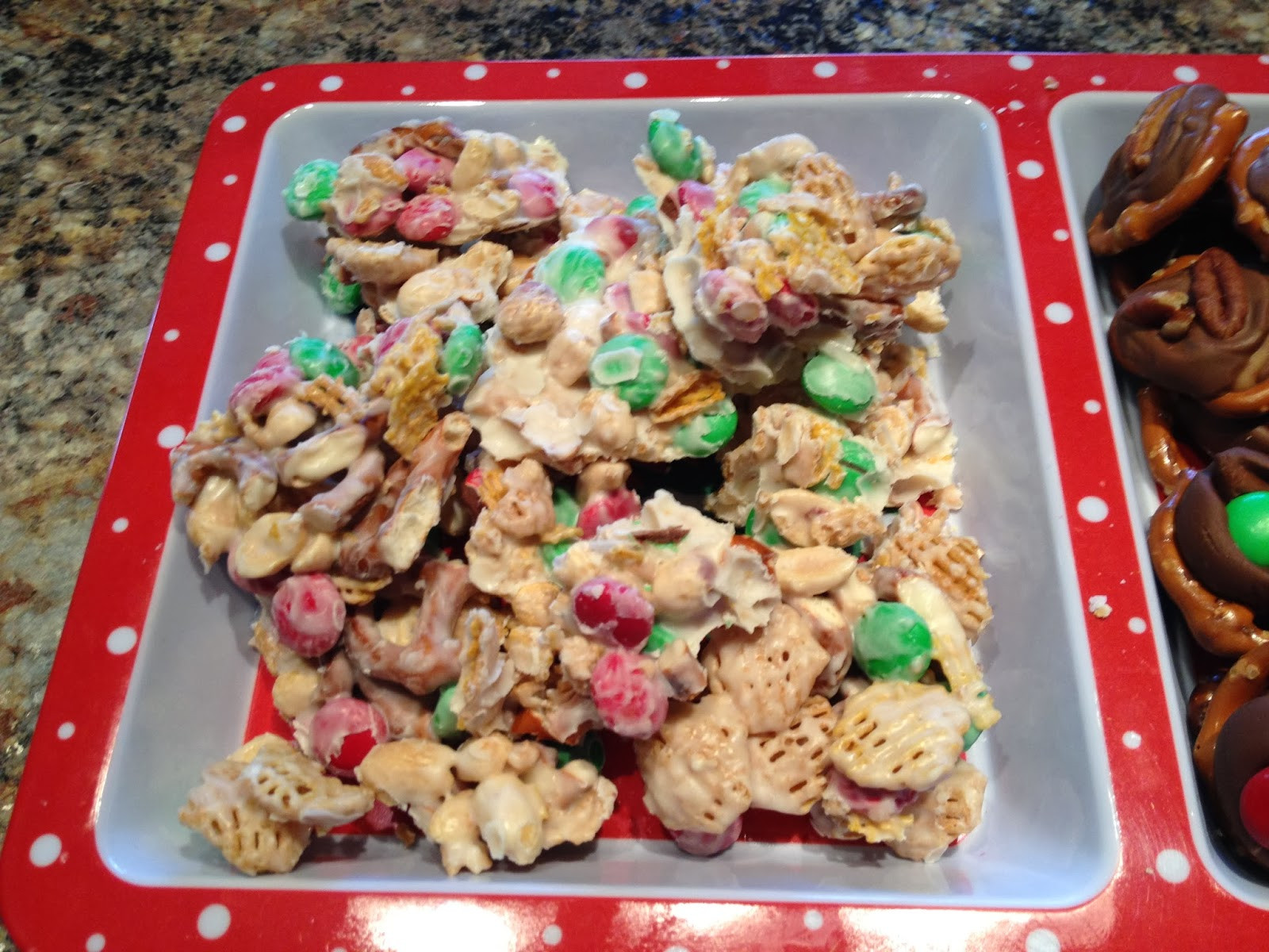 Christmas Trash Candy  The Farmer s Wife IN Christmas Trash Candy Recipe