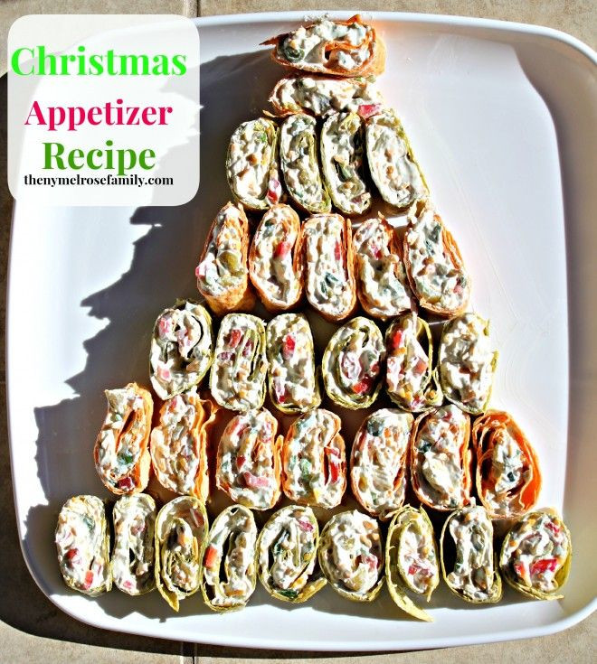 Christmas Tree Appetizers Recipes  Pinterest • The world's catalog of ideas