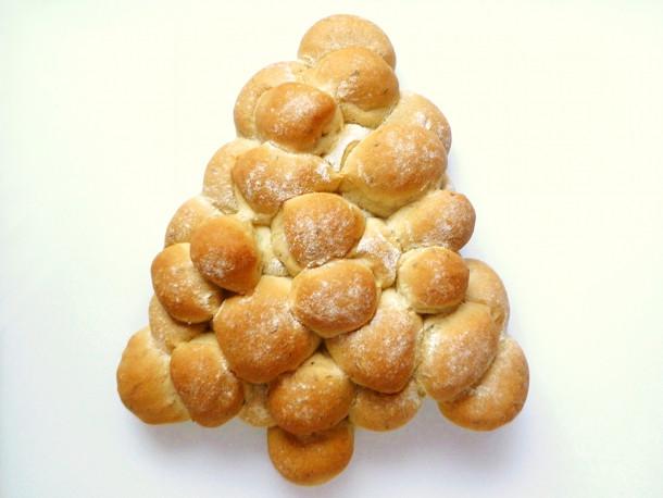 Christmas Tree Bread Recipe  Christmas Tree Bread Recipe
