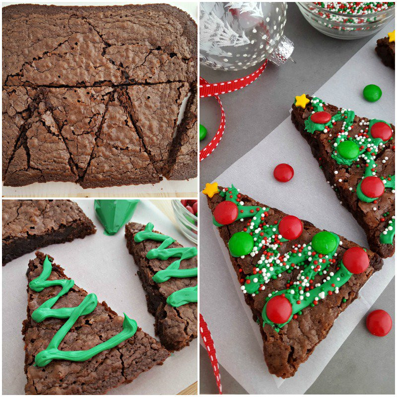 Christmas Tree Brownies  Christmas Tree Brownies In The Playroom