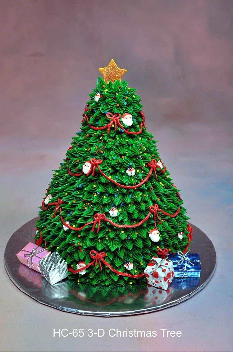 Christmas Tree Cakes  3D Christmas cakes
