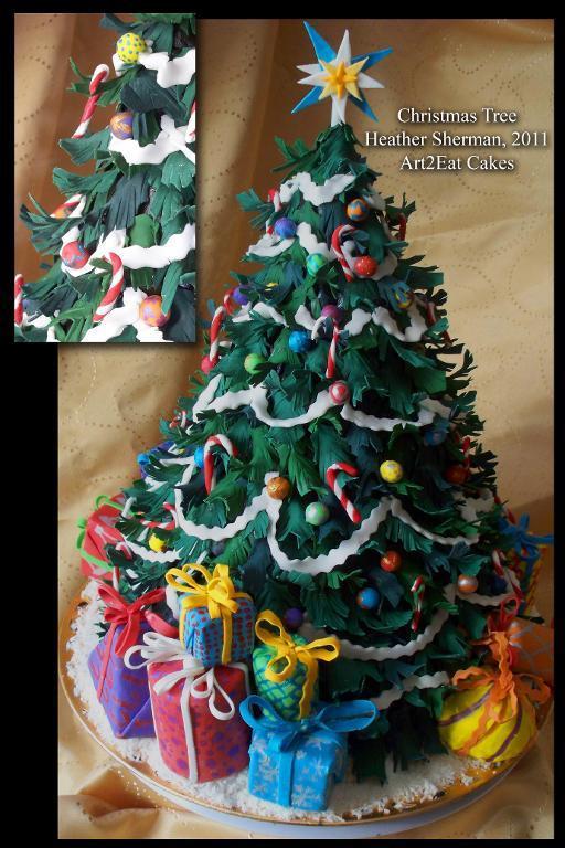 Christmas Tree Cakes  10 Christmas Cake Designs You ll Love