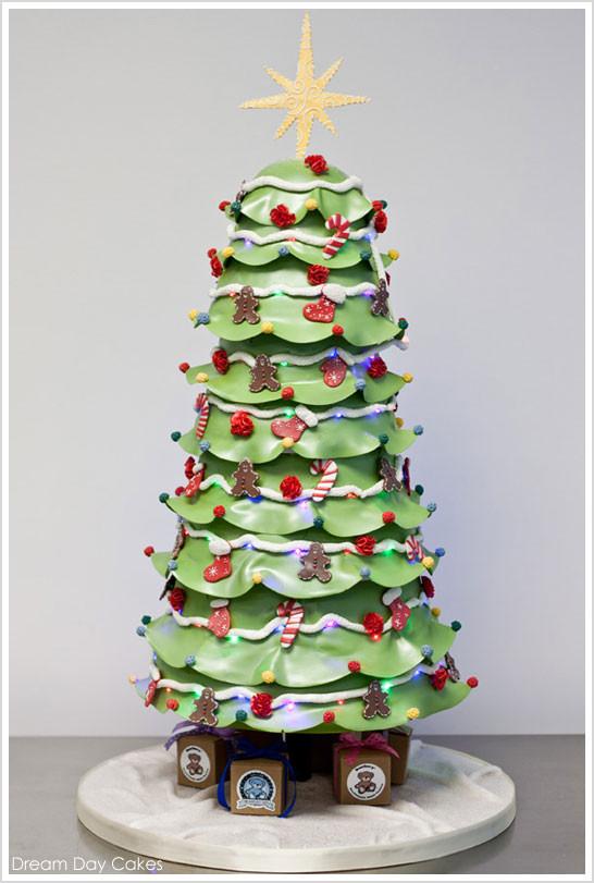 Christmas Tree Cakes  3rd Cake of Christmas
