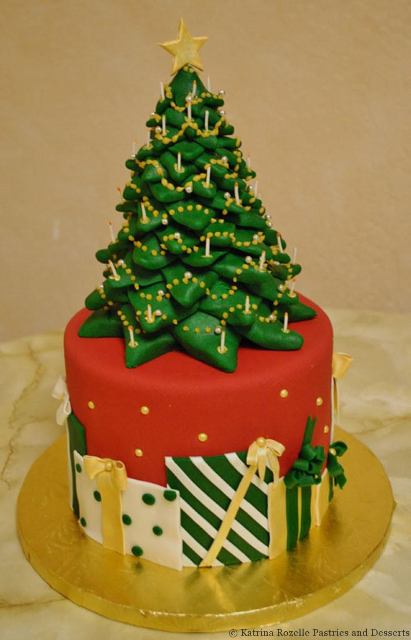 Christmas Tree Cakes  Katrina Rozelle Pastries & Desserts