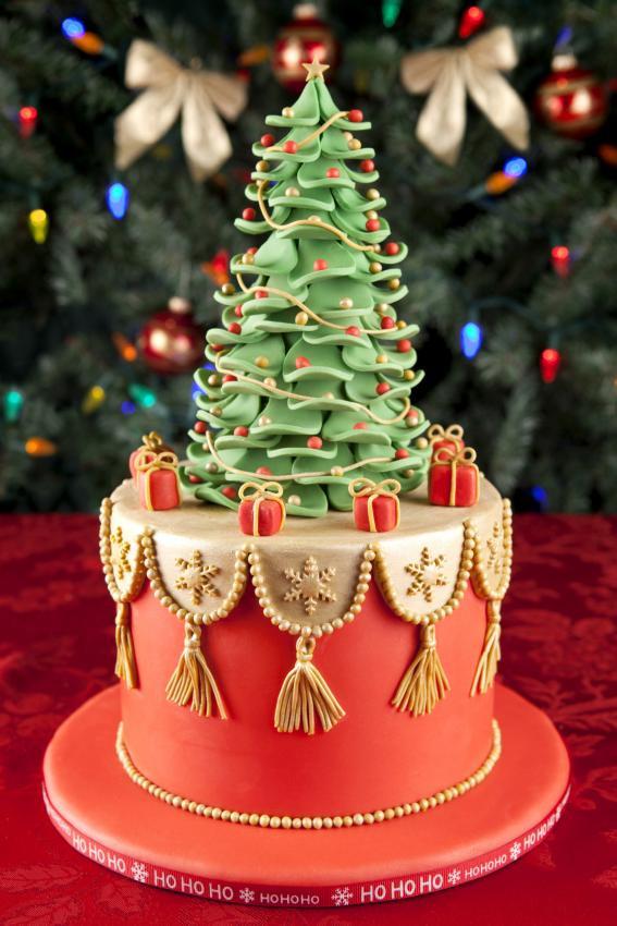 Christmas Tree Cakes  Top 10 Christmas Cake Designs [Slideshow]