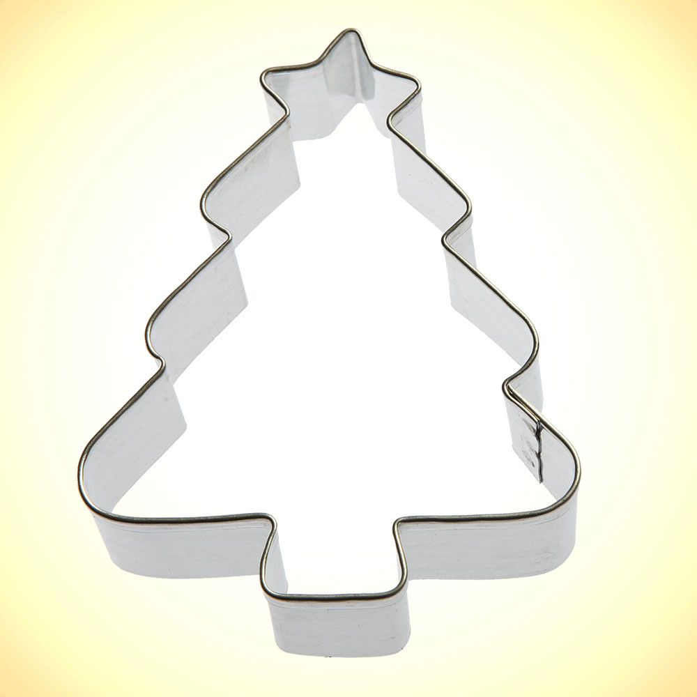 Christmas Tree Cookies Cutter  Christmas Tree Cookie Cutter 3 25 in