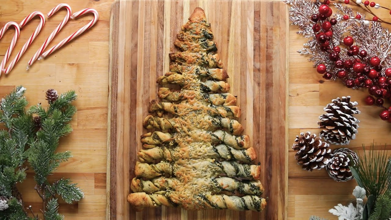 Christmas Tree Pull Apart Bread  Christmas Tree Pull Apart Bread Recipe • Tasty