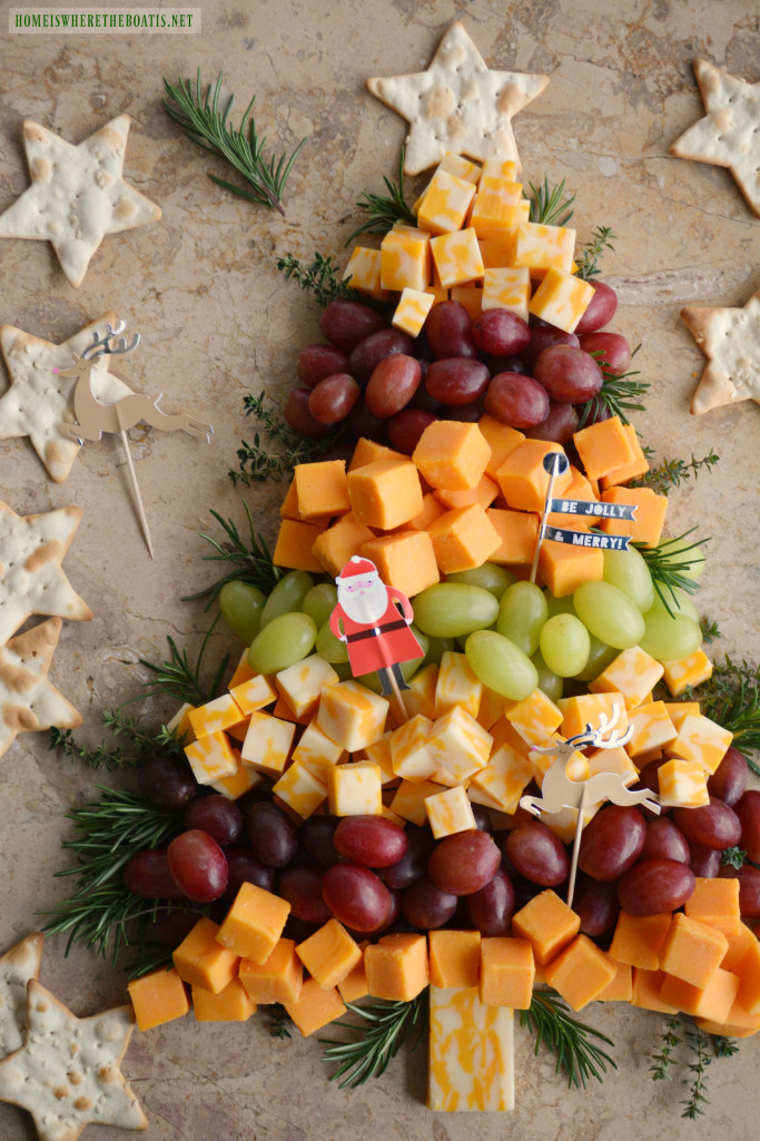 Christmas Tree Shaped Appetizers  Easy Holiday Appetizer Christmas Tree Cheese Board – Home