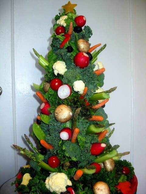 Christmas Tree Shaped Appetizers  Amazing Christmas Tree Shaped Appetizers