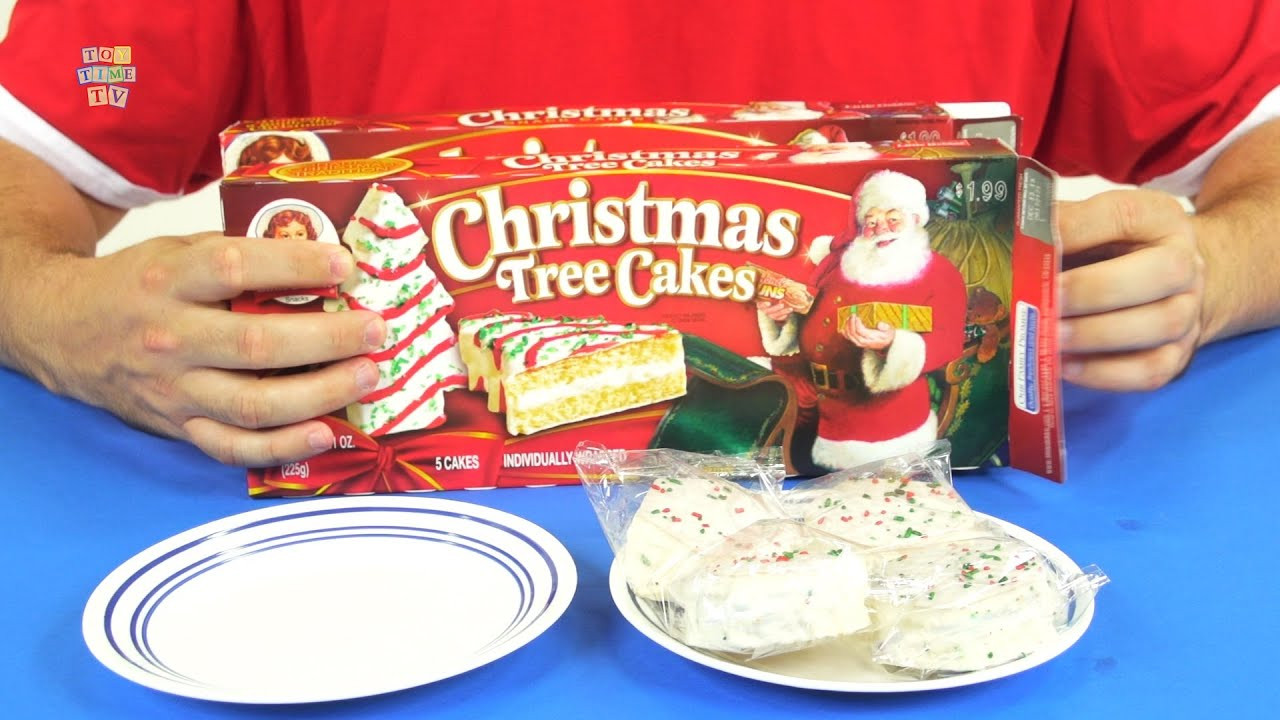 Christmas Tree Snack Cakes  Little Debbie Christmas Tree and Snack Party Cakes
