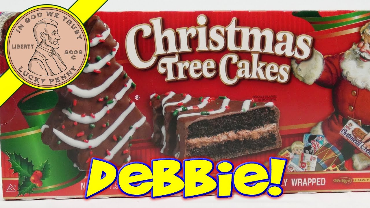 Christmas Tree Snack Cakes  Little Debbie Christmas Tree Snack Cakes Oh Christmas