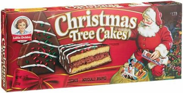 Christmas Tree Snack Cakes  Christmas Tree Cakes Little Debbie
