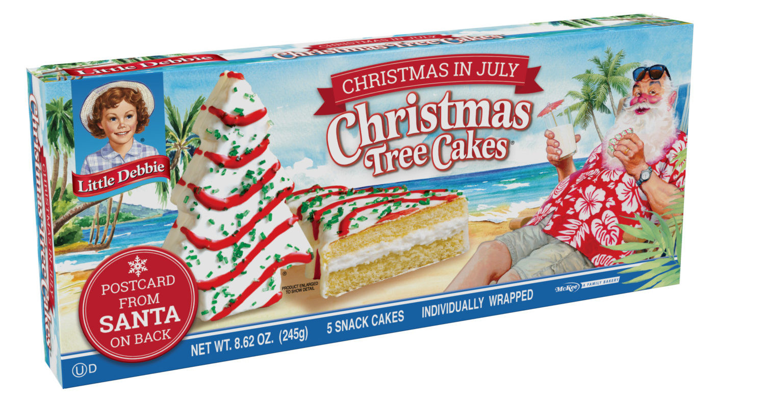 Christmas Tree Snack Cakes  Little Debbie Christmas Tree Snack Cakes At Walmart