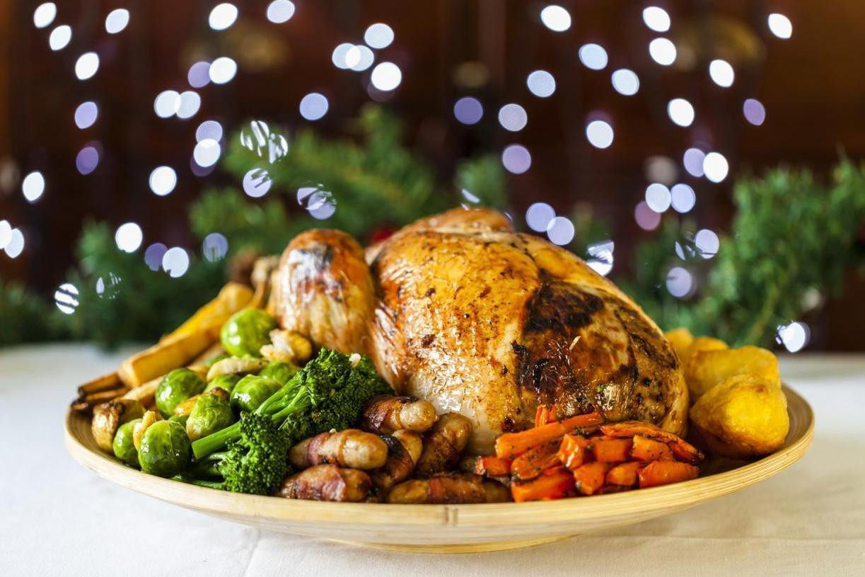 Christmas Turkey Dinner  Where to eat on Christmas Day in London The best