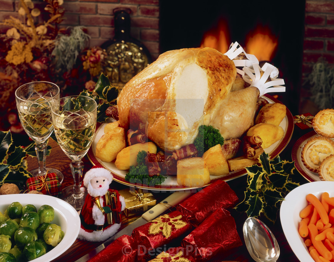 Christmas Turkey Dinner  Christmas Turkey Dinner With Wine Ireland License