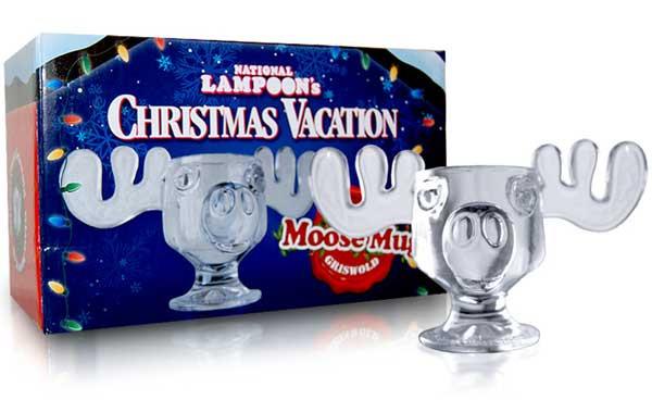 Christmas Vacation Eggnog Glasses  Christmas Vacation Glass Moose Mug