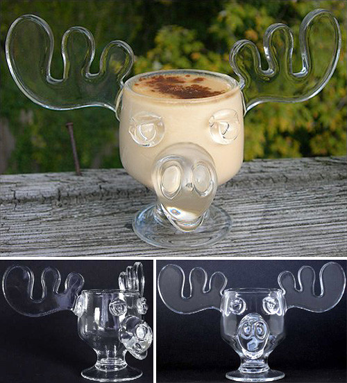 Christmas Vacation Eggnog Glasses  OGCC Day 24 – The Moose Mug From National Lampoon s