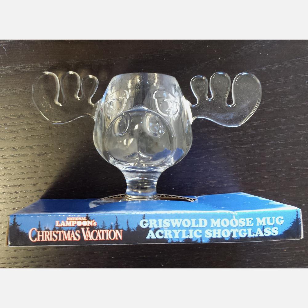 Christmas Vacation Eggnog Glasses  Christmas Vacation Moose Mug Shot Glass Clark Griswold