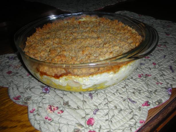 Christmas Vegetable Casserole  Holiday Ve able Casserole Recipe Food