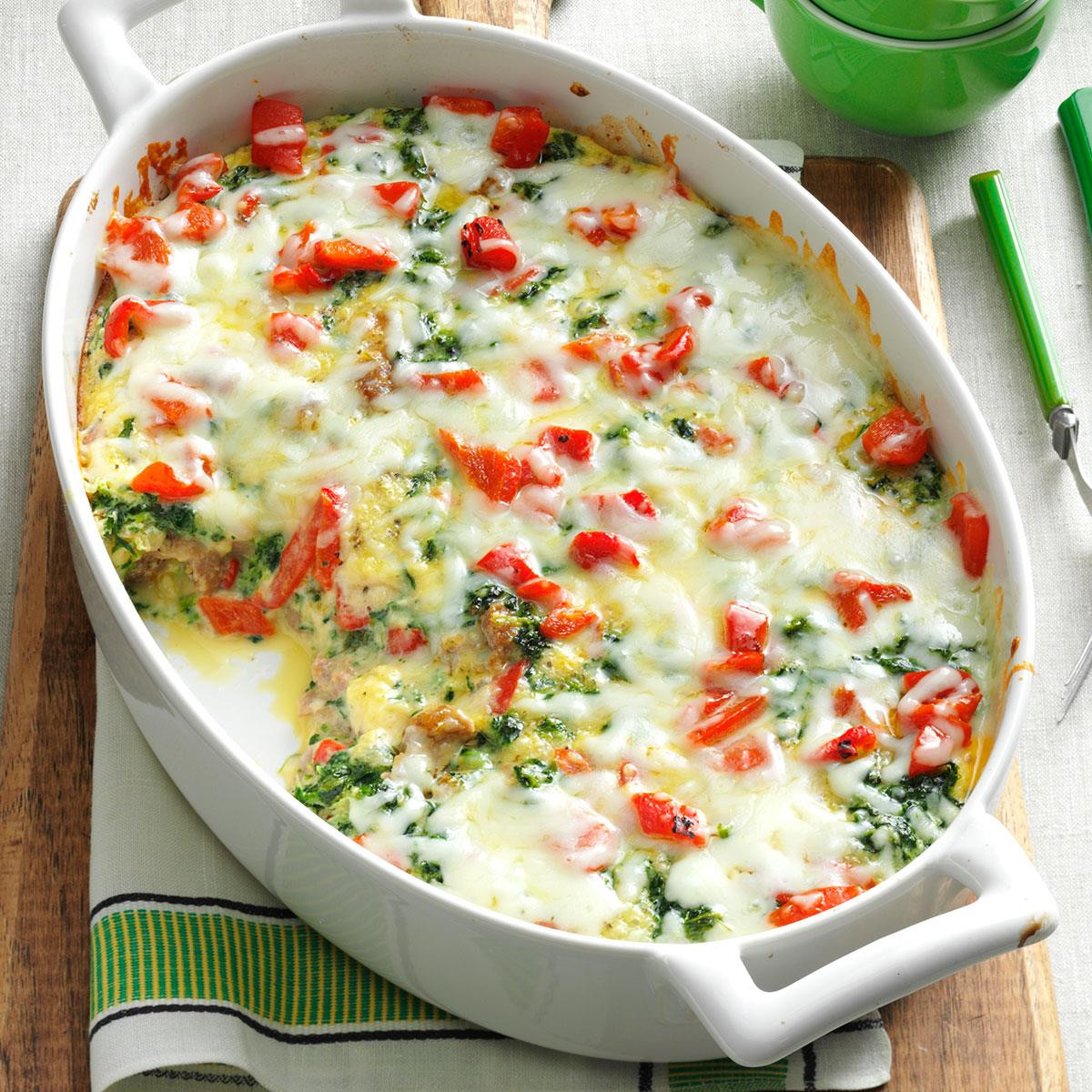 Christmas Vegetable Casserole  Christmas Breakfast Casserole Recipe