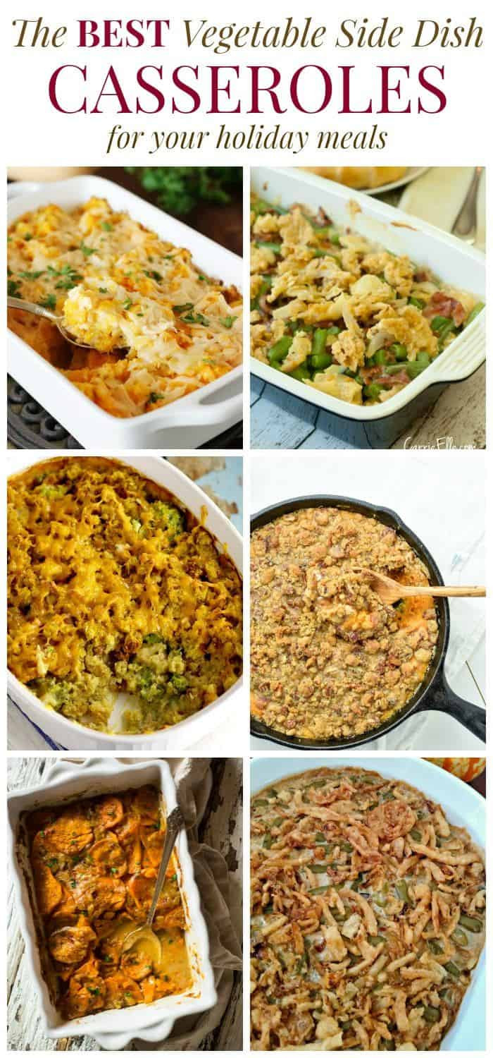 Christmas Vegetable Casserole  The Best Ve able Side Dish Casserole Recipes Cupcakes