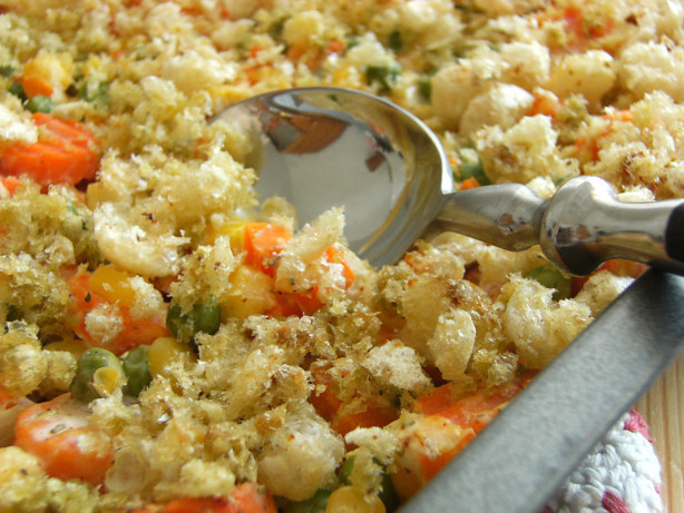 Christmas Vegetable Casserole  Mixed Ve able Casserole Recipe Food