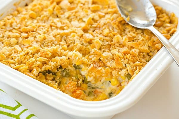 Christmas Vegetable Casserole  Corn and Mixed Ve able Casserole Recipe