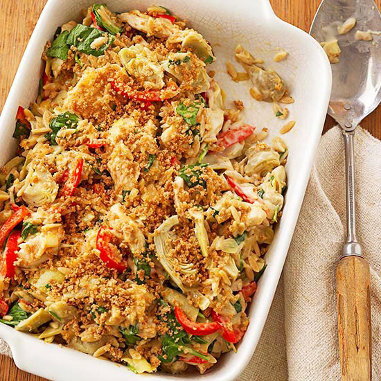 Christmas Vegetable Casserole  Crowd Pleasing Holiday Casseroles from Better Homes & Gardens