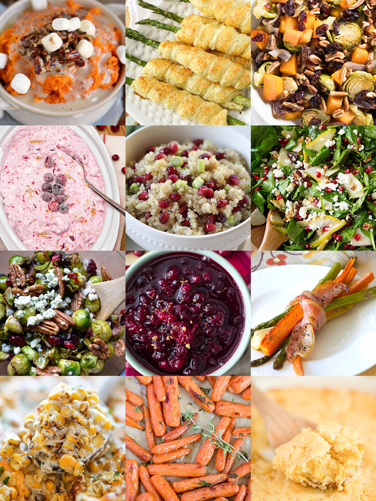 Christmas Vegetable Side Dishes  35 Side Dishes for Christmas Dinner Yellow Bliss Road