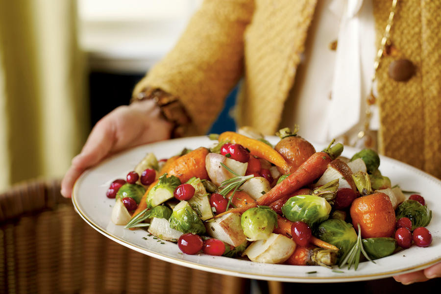 Christmas Vegetable Side Dishes  Cranberry Roasted Winter Ve ables Christmas Holiday
