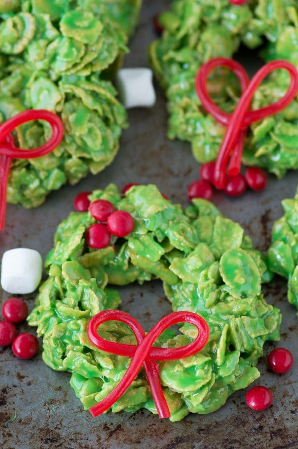 Christmas Wreath Cookies Recipe  Christmas Wreath Cookies