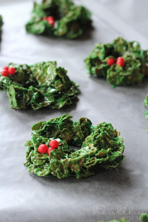 Christmas Wreath Cookies Recipe  Christmas Wreath Cookies Kleinworth & Co
