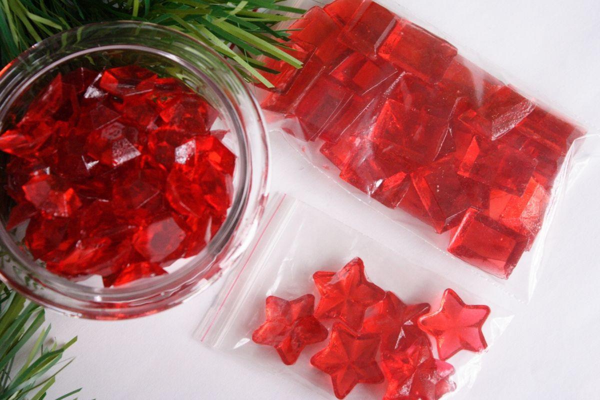 Cinnamon Christmas Candy  how to make hard candy jewels Cute Food