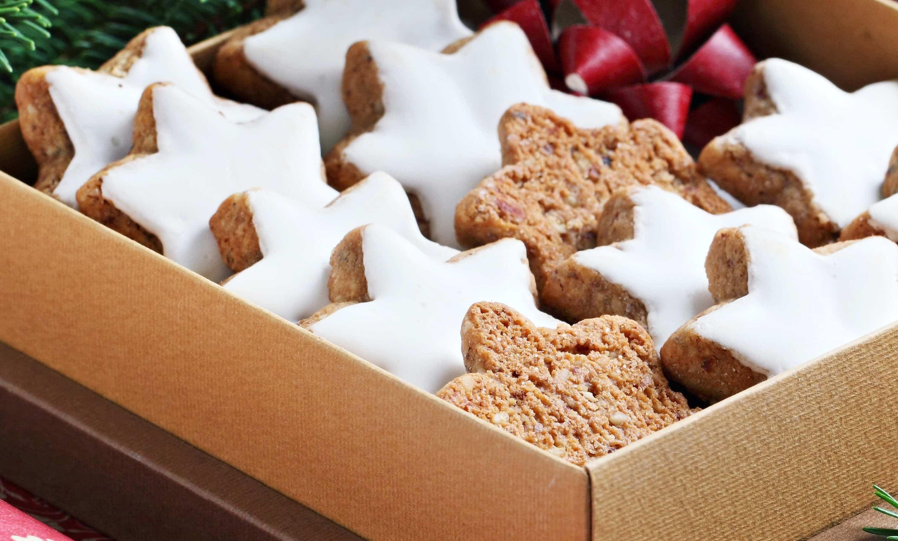 Cinnamon Christmas Cookies  Zimtsterne German Cinnamon Star Cookies The Daring Gourmet