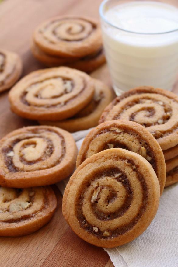 Cinnamon Christmas Cookies  Cinnamon Bun Icebox Cookies Dinner With Julie